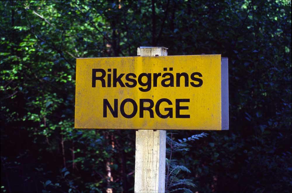 tollstasjoner mellom norge og sverige
